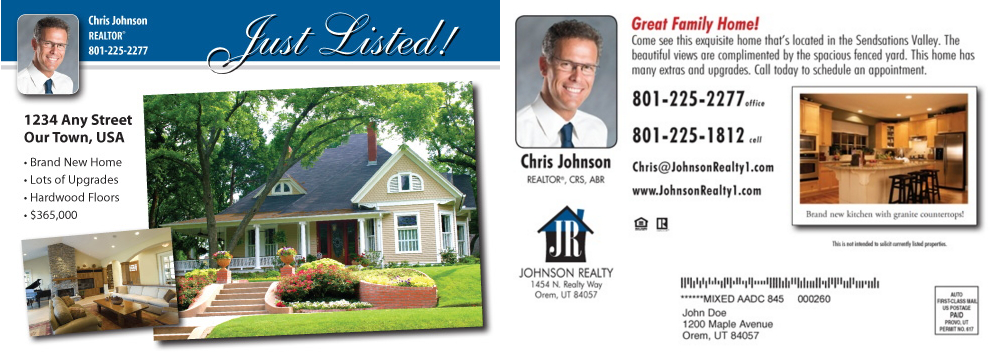 Choose the Right Real Estate Postcards With Contact Details
