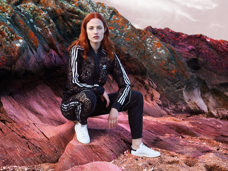 Stella McCartney x adidas Stan Smith sneaker campaign