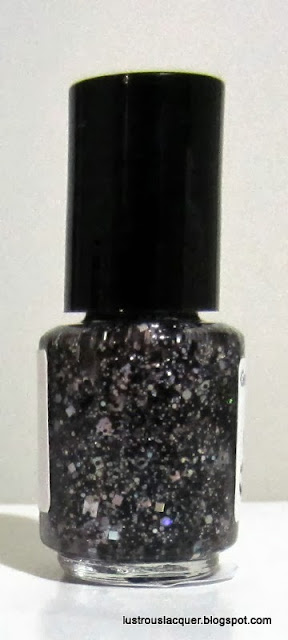 Glitterfied Nails Black Out Bottle Shot