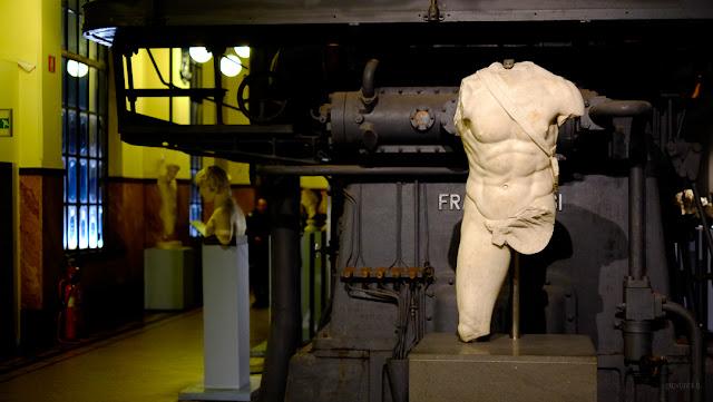 Statua esposta al Museo Montemartini, Roma