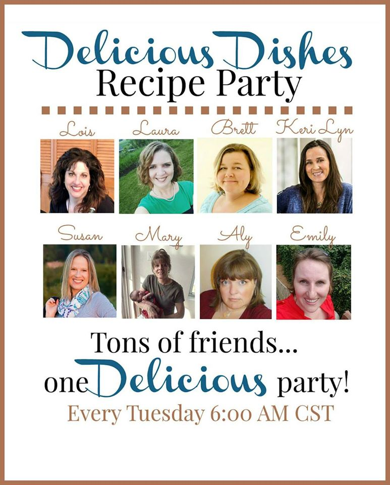 Delicious Dishes Recipe Party #27 from Walking on Sunshine Recipes