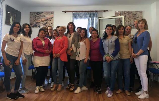 Inaugurado el nuevo curso de camarera de piso en el hotel fuentemar noticias de chiclana - Camarera de pisos curso gratuito ...