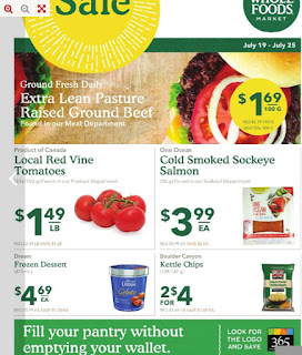 Whole Foods Flyer July 19 – 25, 2017