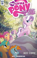 MLP Friendship is Magic #39 Comic by IDW Hot Topic Variant by Tony Fleecs