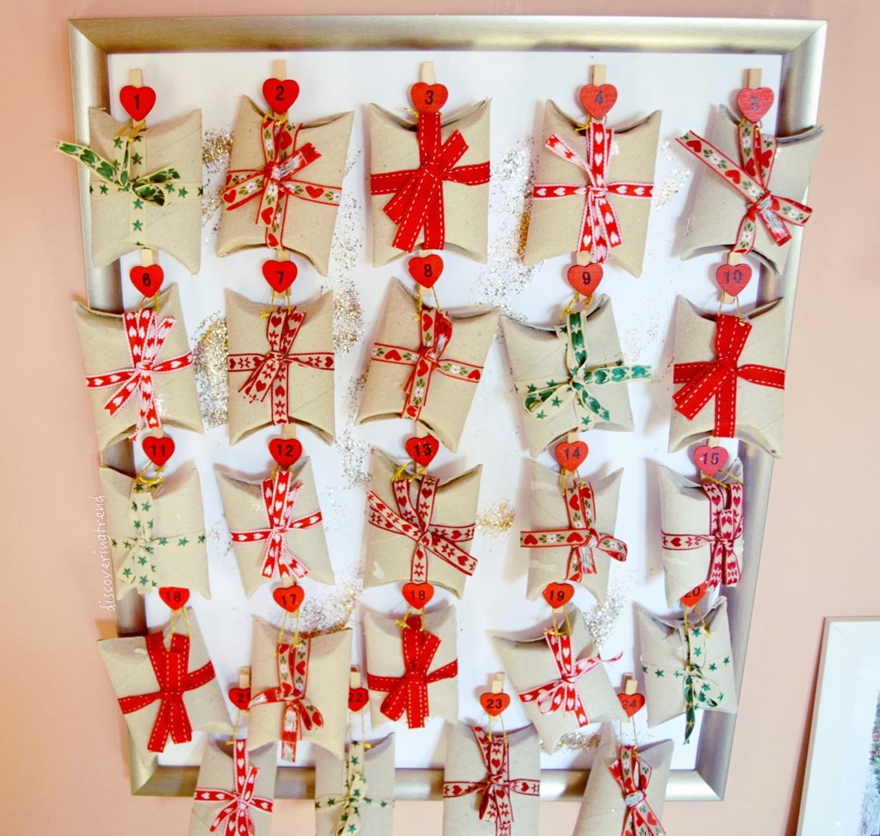 Calendario Avvento Pinterest.Christmas Diy Calendario Dell Avvento Fai Da Te