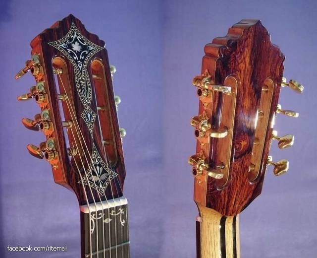 "Seven-string guitar called the ""Russian guitar"" or ""gypsy guitar."""