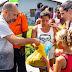 Eunápolis - 10 mil famílias carentes foram beneficiadas com a entrega de peixes