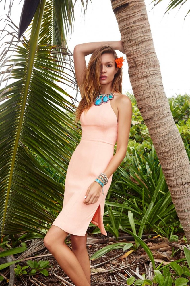 Lovers + Friends 2015 Lookbook featuring Josephine Skriver