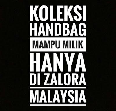 Zalora malaysia,laman web zalora, online shopping zalora, cara membeli di zalora, tips membeli belah di zalora,handbag mampu milik di zalora,koleksi handbag di zalora