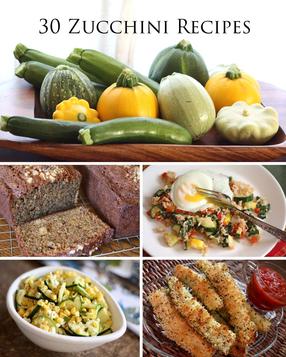 Barefeet In The Kitchen: Summer Squash: 30 Zucchini Recipes