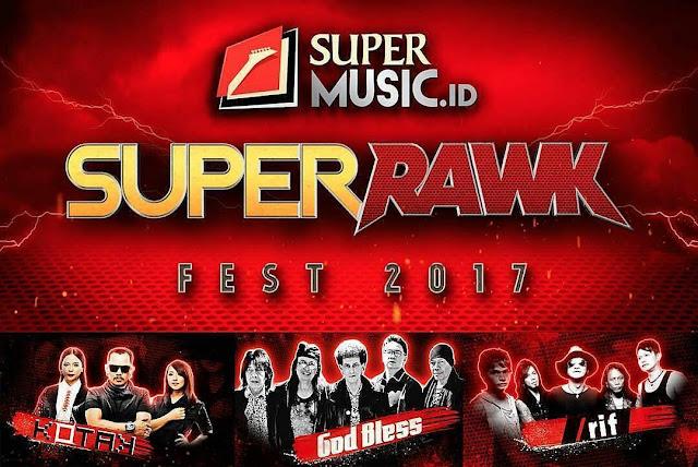 Keseruan Super Rawk Fest 2017 Di Mulai Dari Garut