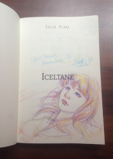 Dédicace d'Iceltane par Sabrina Tobal