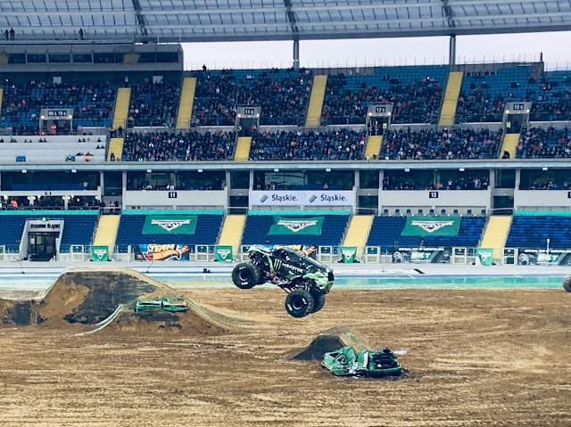 Monster Truck Energy na Monster Jam, stadion Śląski, Chorzów, 22-09-2018