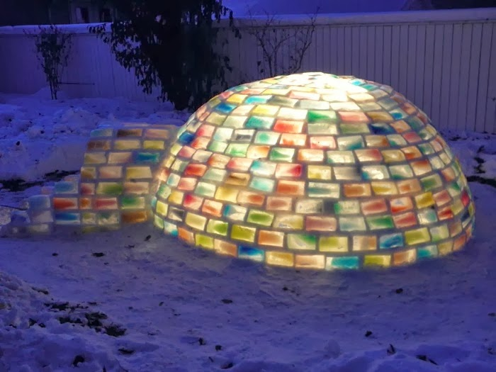 What This Couple Built In Their Snowy Backyard Made Me Insanely Jealous. Seriously…Wow.