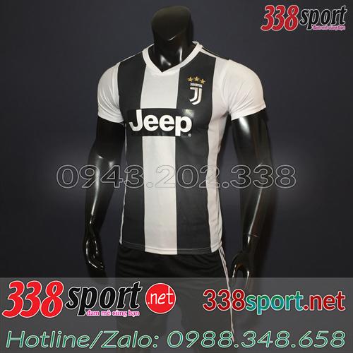 Áo Juventus Đen Trắng 2018 2019 Sân Nhà