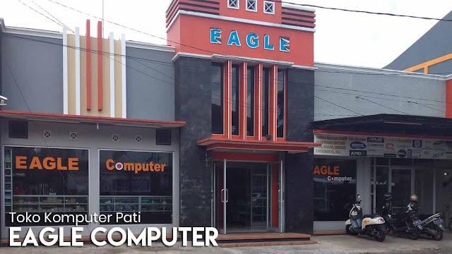 Eagle Computer - Salah satu toko komputer terbesar di Pati