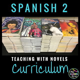 Curriculum Year 6 - Teaching Spanish with Novels - spanish 2