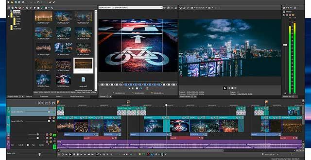 VEGAS Pro 15 Final Edición de vídeo y audio profesional