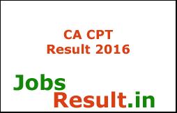 CA CPT Result 2016