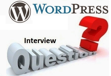 Wordpress interview questions and answers experienced