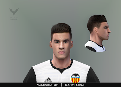 PES 6 Faces Santi Mina by Adam & The Kid Facemaker