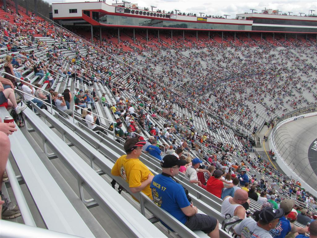 Skid And Sandy On The Road Bristol Motor Speedway Saturday