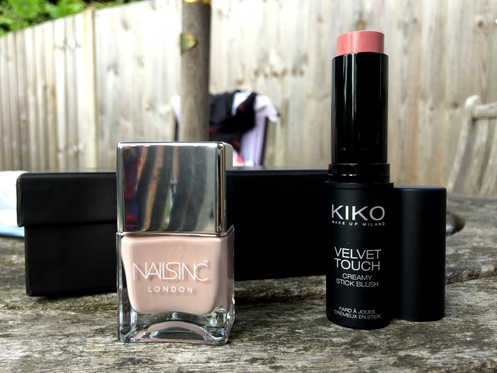 YouBeauty June Nails Inc Porchester Square and KIKO Stick Blush