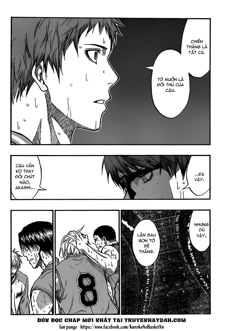 Kuroko No Basket chap 183 trang 6