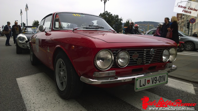 Stile Alfa Romeo Trieste Opicina Historic Piazza Verdi