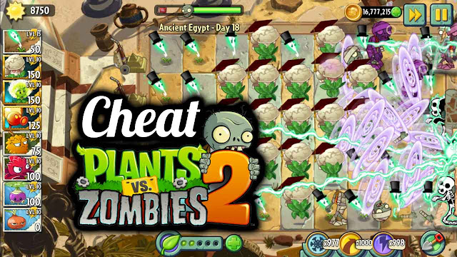 Cheat Plants Vs Zombie 2 Mega Mod No Delay Android Tanpa Root