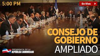 EN VIVO: Consejo de Gobierno Ampliado