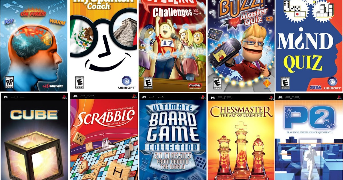 The Best Game Collections: The Top 10 PSP Educational ...