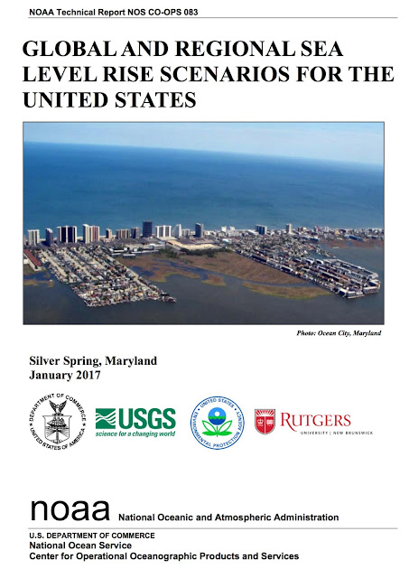 New NOAA Report on SLR