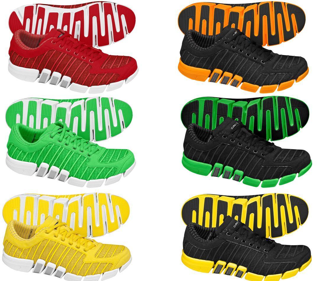 half off 2084c f4f9c O tênis está disponível em 15 cores diferentes e ousadas, os atletas podem  escolher entre as opções pink, verde, amarelo, laranja, vermelho, ...