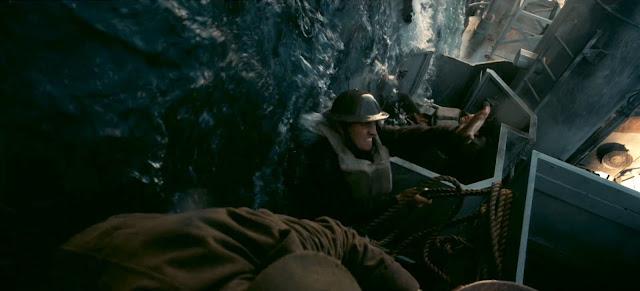Naufrage lors de Dunkerque de Christopher Nolan (2017)