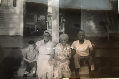 Hazel Mickelsen Ganus, Stella Mae Montgomery, Heber Monroe Ganus, Okmulgee, Oklahoma, genealogy, ancestry, family history