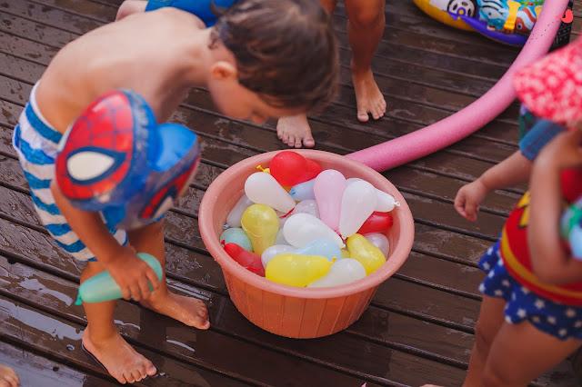 Brincadeiras festa de verão