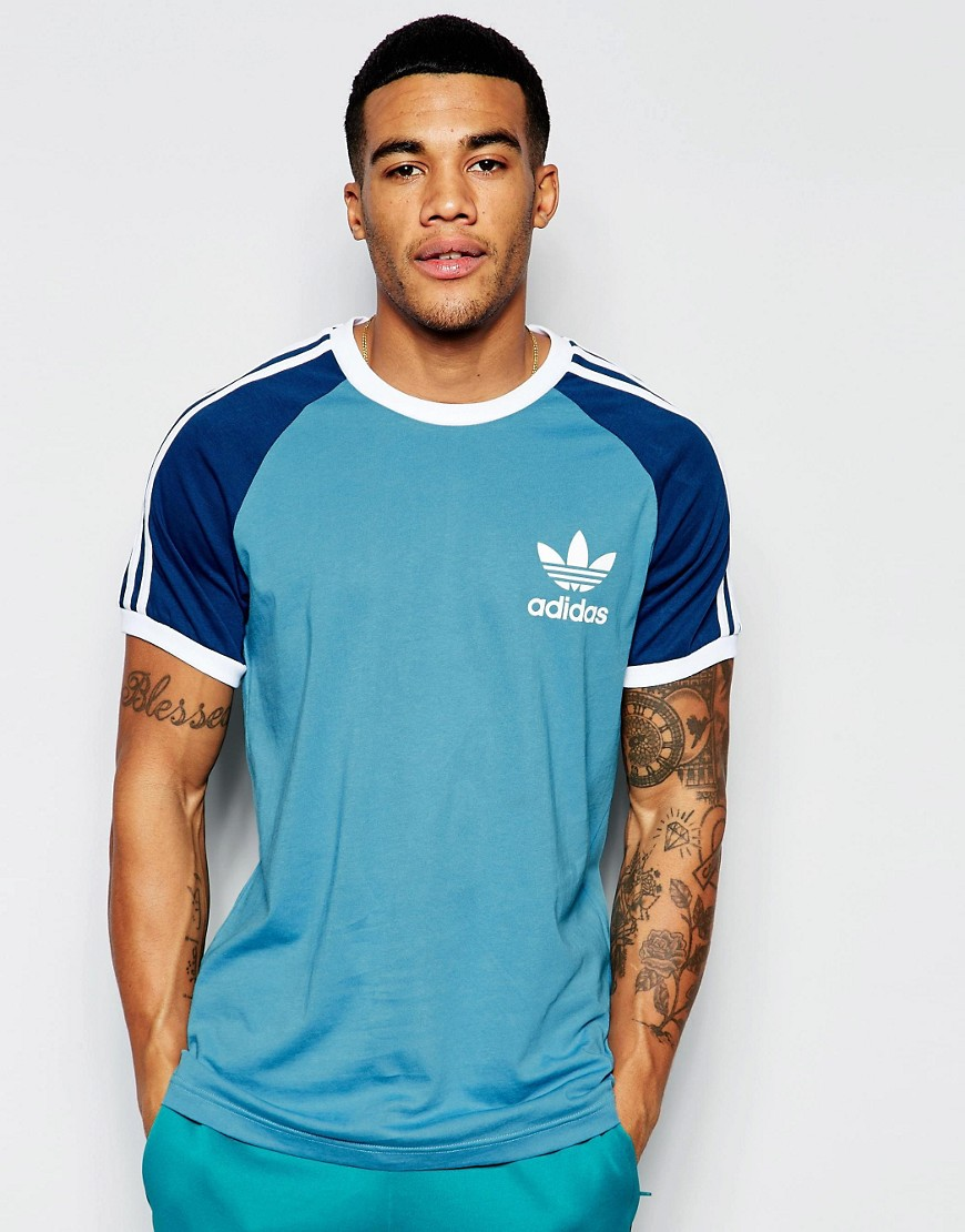 camiseta adidas original california