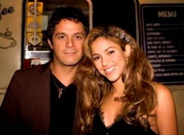 Foto de Alejandro Sanz feliz con Shakira