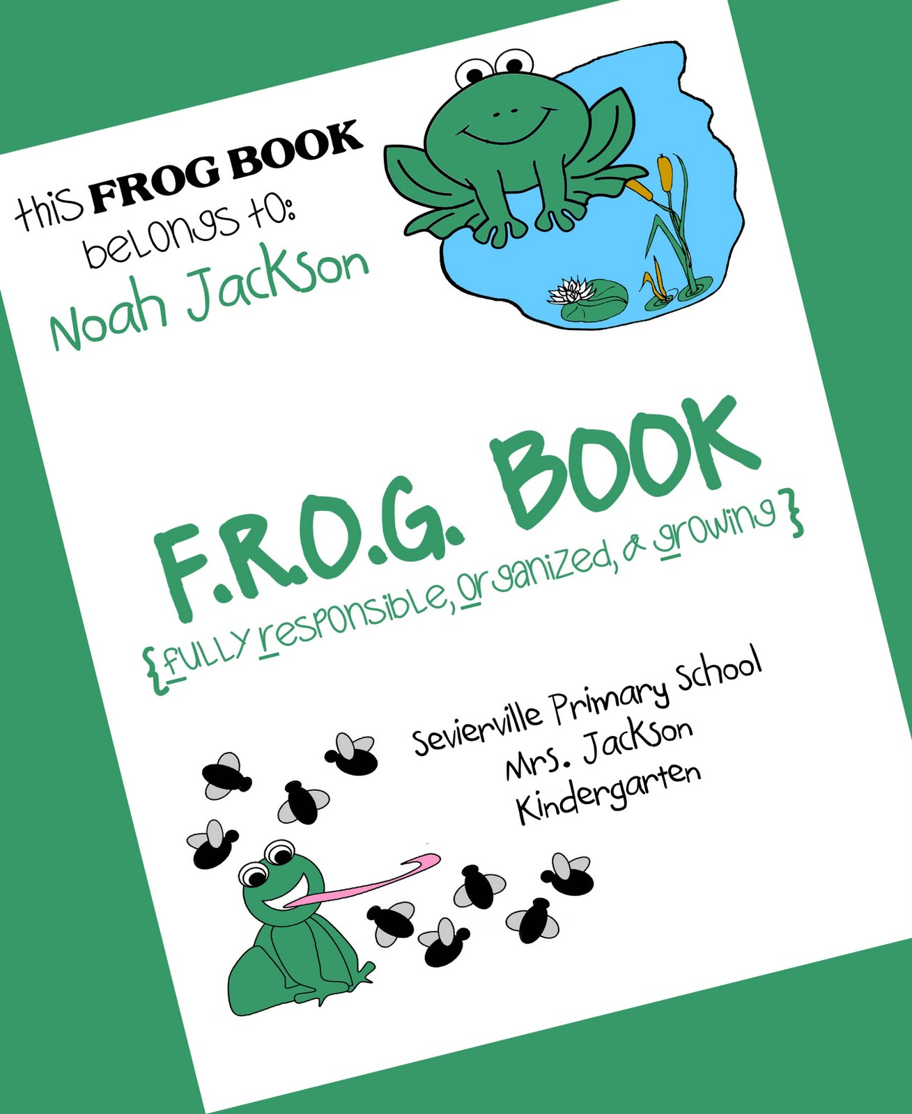 Pixie Chicks: Classroom Theme Thursday {Frogs} & A Freebie