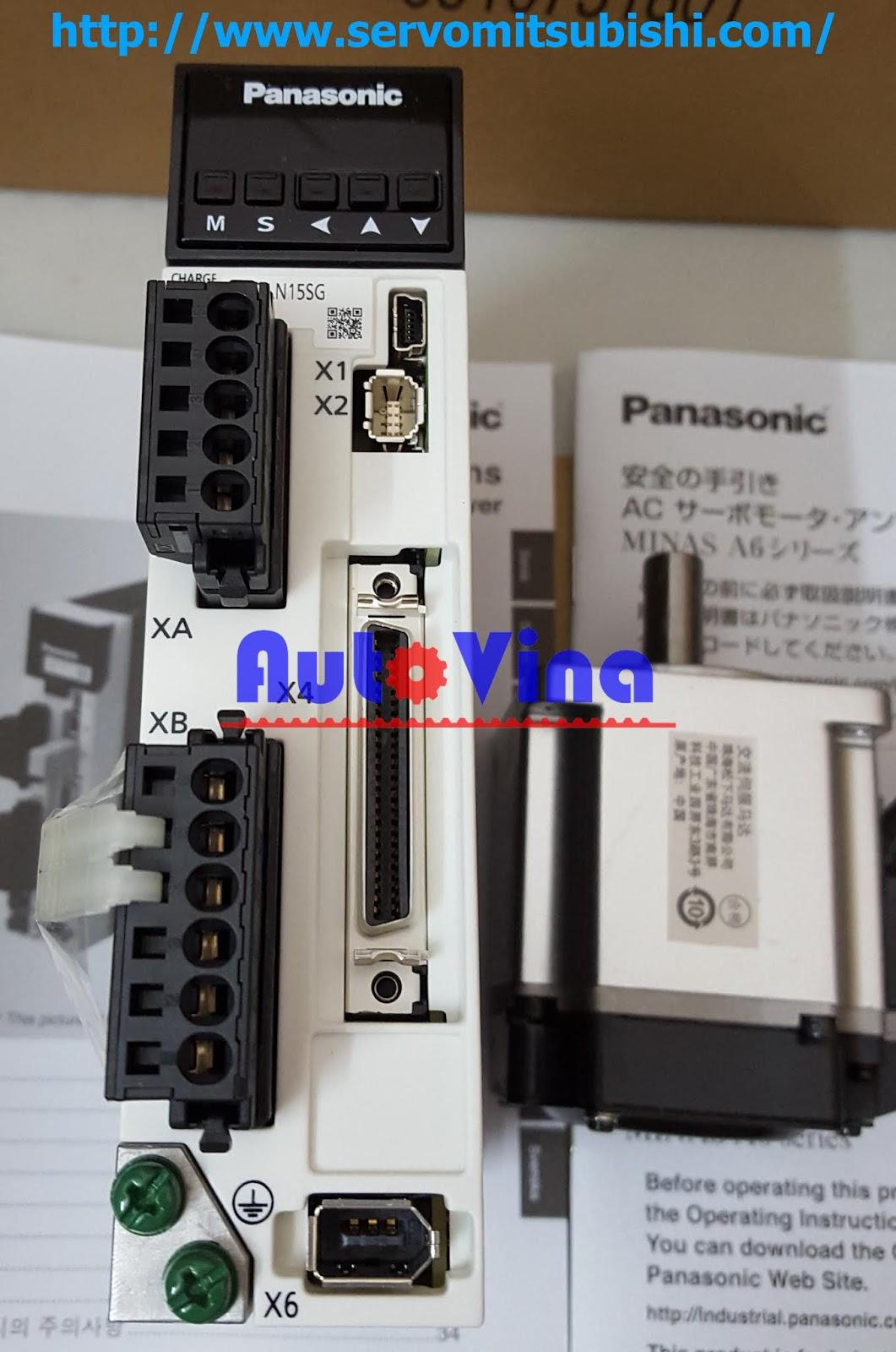 Đại lý bán Driver Servo Panasonic MADLN15SG công suất 200W