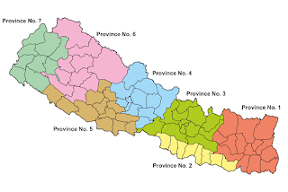 Geographical location and area of Nepal