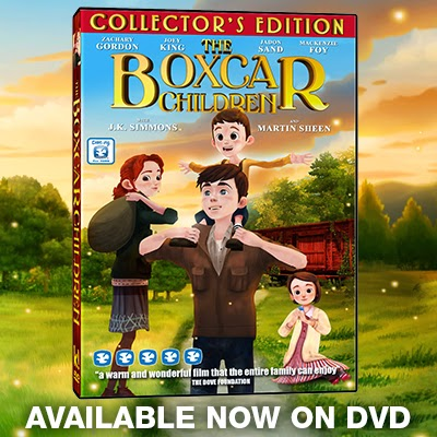 The Boxcar Children  dvd cover