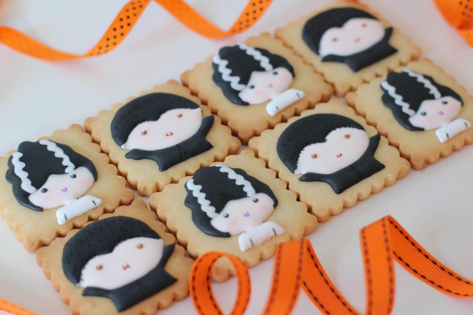 Galletas decoradas Halloween naif Postreadiccin Cursos de