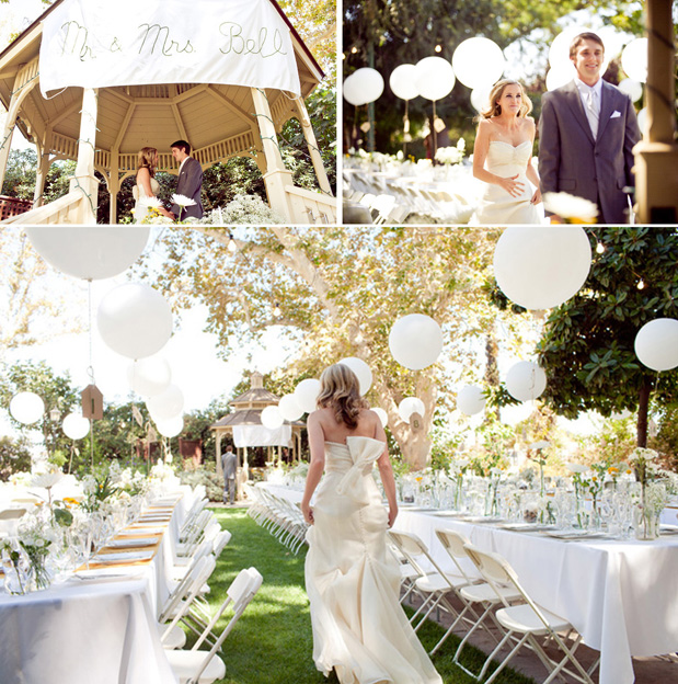 Summer Outdoor Wedding Decorating Ideas Photograph