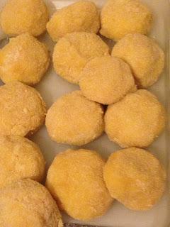 Bolitas de jamón y mozzarella, preparación 5