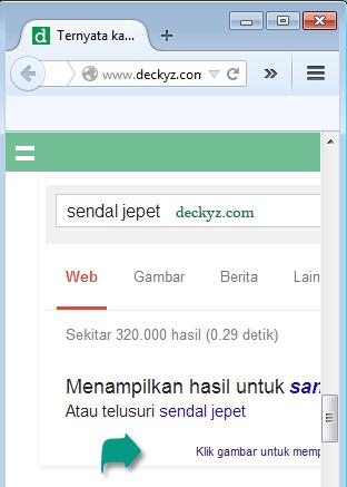 Gambar responsive tidak bekerja pada browser yang tidak update