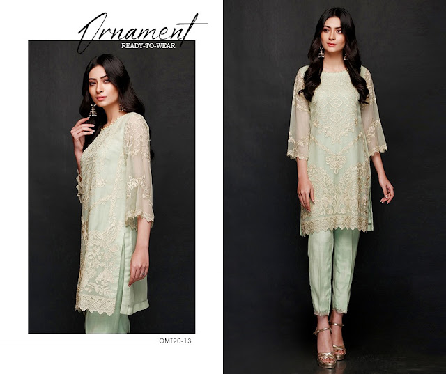 Charizma Ornament Feb edition Ready to Wear Embroidered Collection 2020 with Price Detail