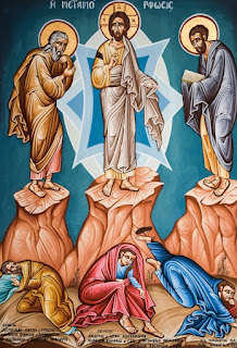 La Transfiguración de Jesús en el Monte Tabor