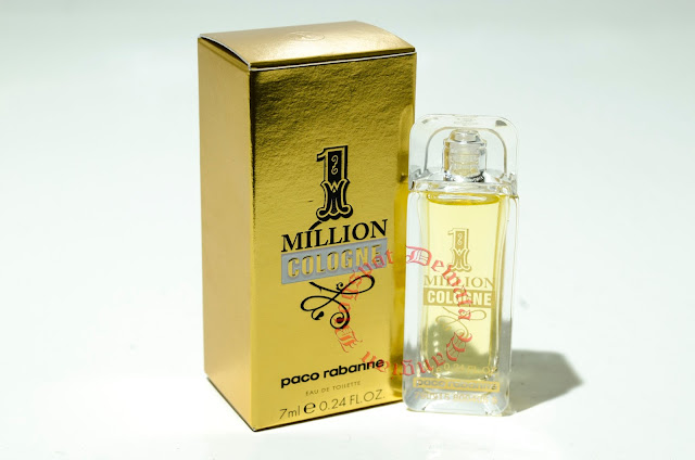 Paco rabanne 1 million cologne miniature perfume cosmetics for Paco rabanne cologne